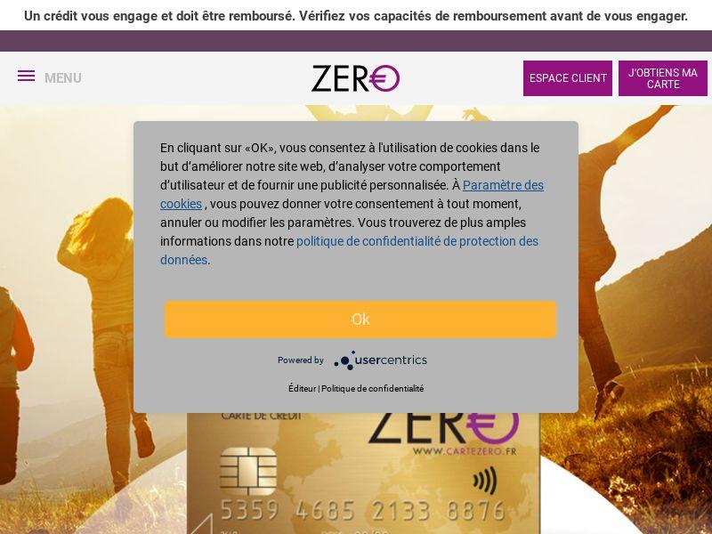 3194) [EMAIL] Advanzia Bank -Carte Zero - FR - CPL