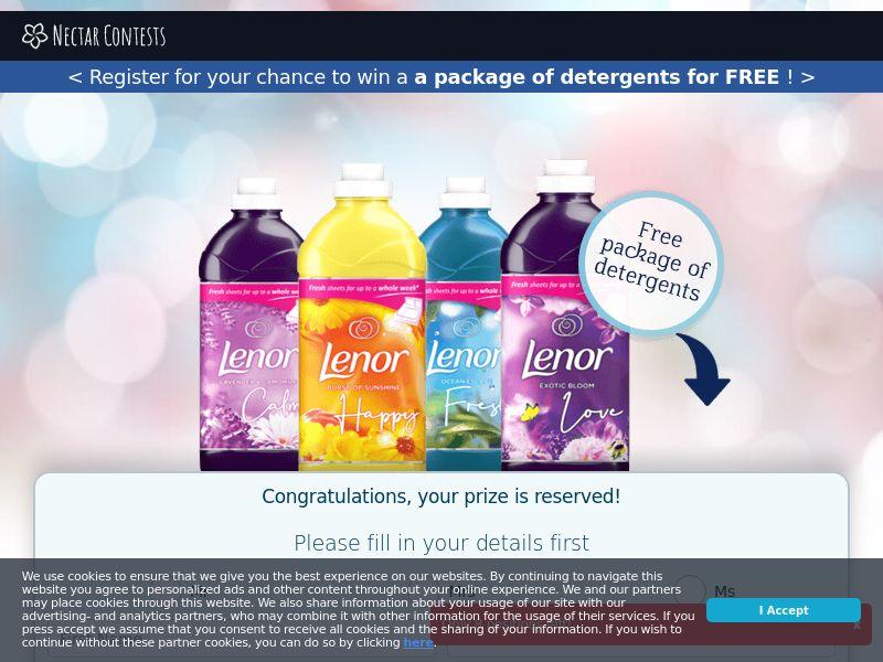 NectarContests - Lenor Detergent CPL [UK]