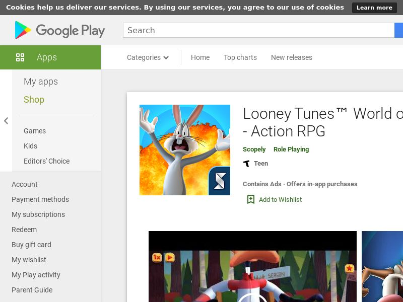 Looney Tunes™ Android CPE (Purchase)
