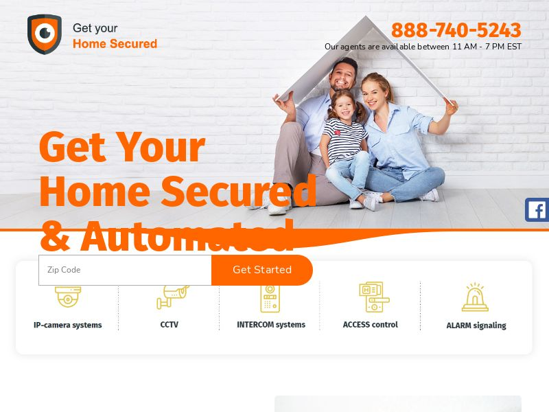 GetYourHomeSecured.com - [Owned]