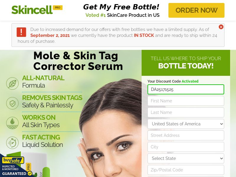 Skincell Pro - US/CA/IE