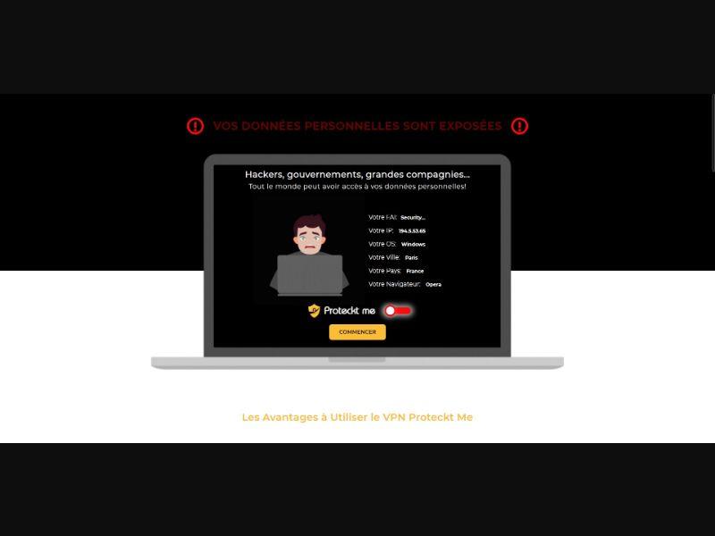 Proteckt Me VPN - Apps - SS - [FR, BE, LU, CH]