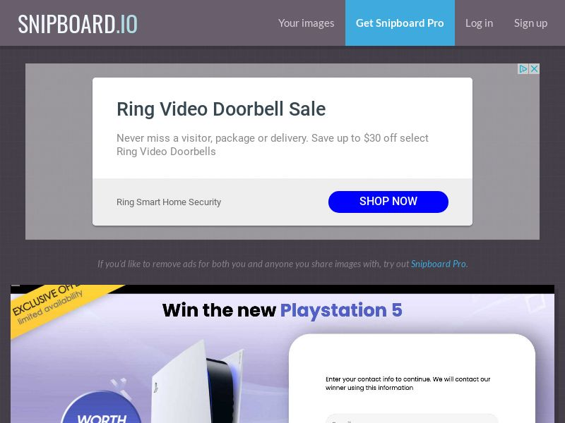 YouSweeps - Win a PlayStation 5 PS5 NZ - SOI