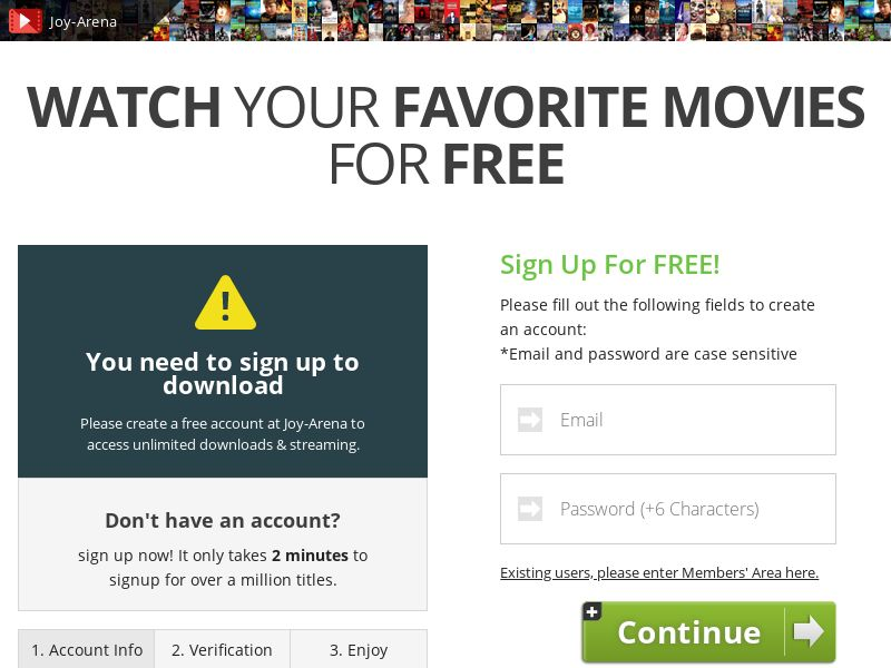 AdCenter Movies - CPA, VOD, Free Trial, CC Submit, Multi-Geo
