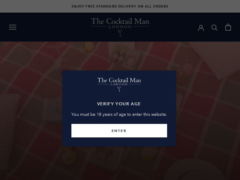 The Cocktail Man - UK (GB), [CPS]