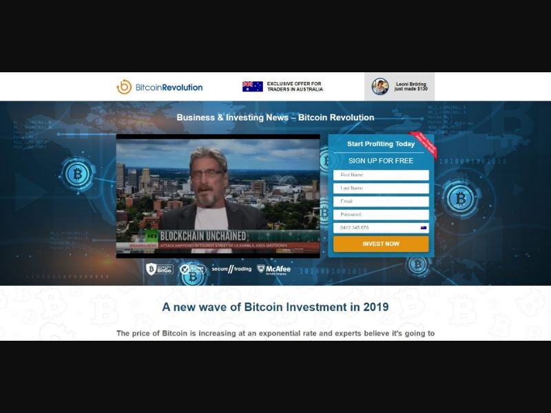 Bitcoin Revolution - Crypto - SS - [AU]