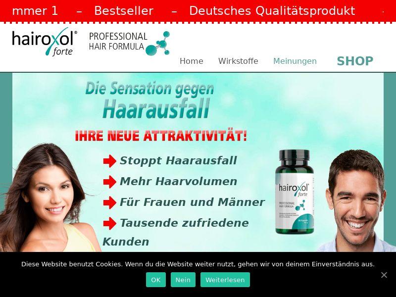 Hairoxol - DACH (AT,DE,CH), [CPA]