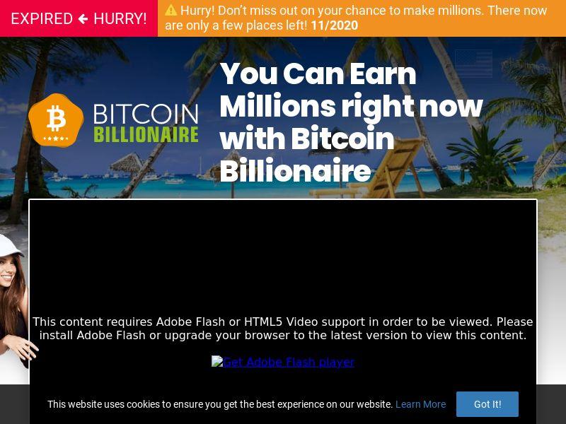 (14229) [WEB+WAP] Bitcoin Billionaire - DE - CPA