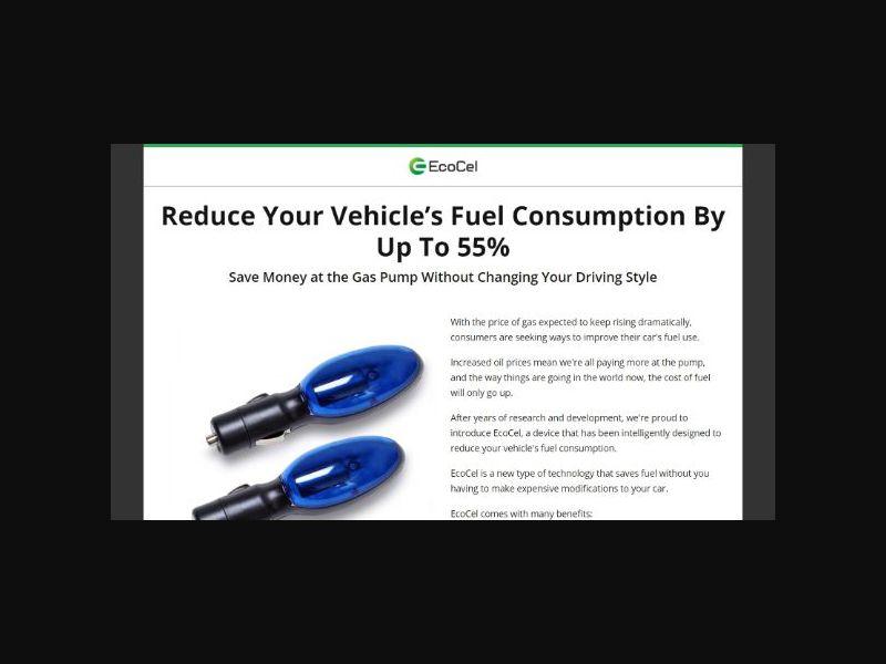 EcoCel - Car Fuel Savings (US)