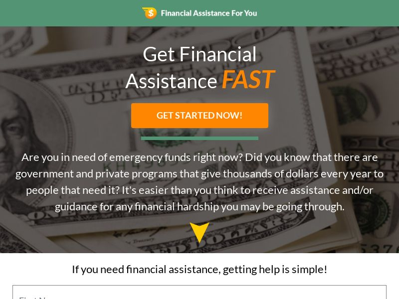 Financial Assitance For You - CPL - US