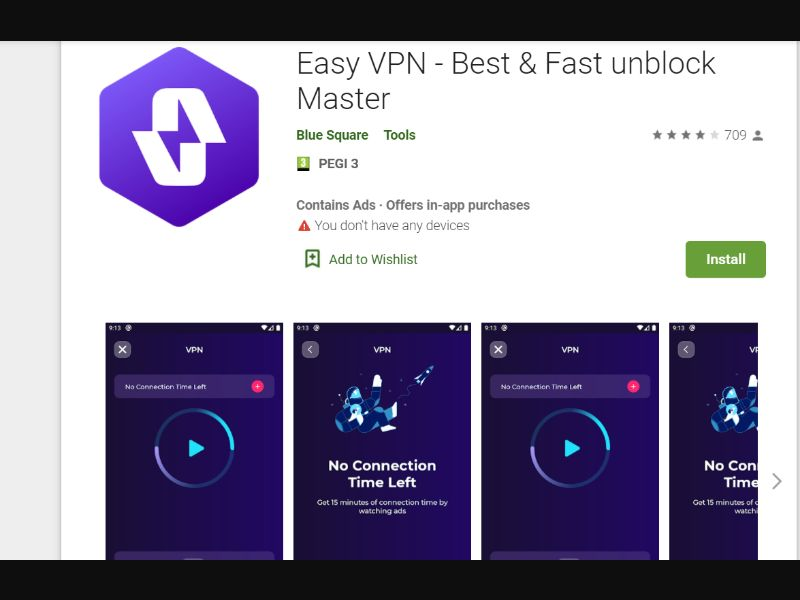 Easy VPN Direct [Milti-GEO] - CPI