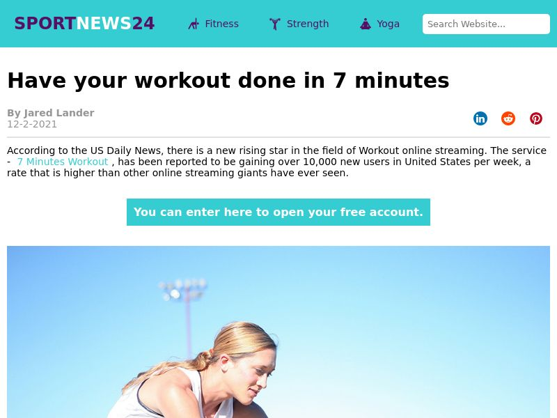 Fitness 7 Min Workout - CPA - Multi Geo's