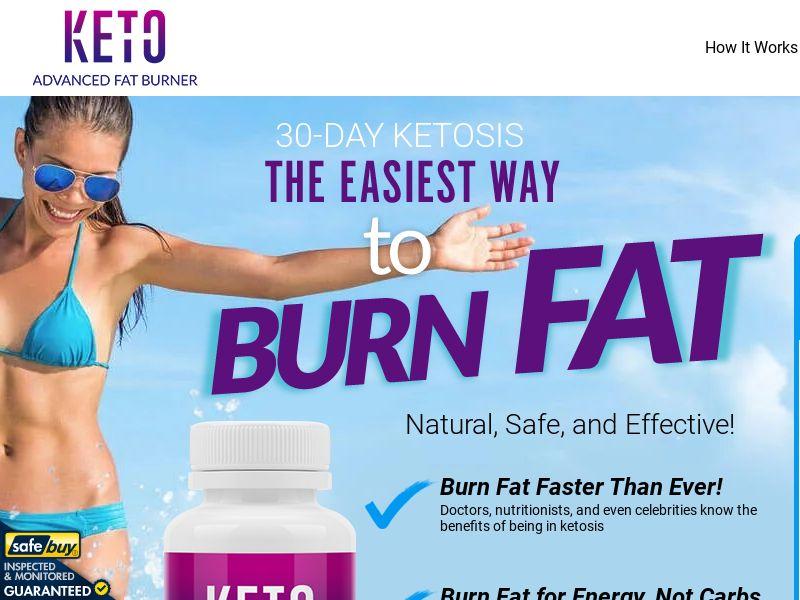 Keto Advanced Fat Burner LP01 (EN INTL - ALL)