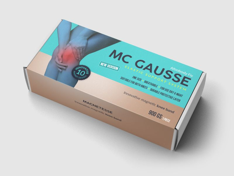MC GAUSSE – CH – CPA – knee pain – knee band - COD / SS - new creative available