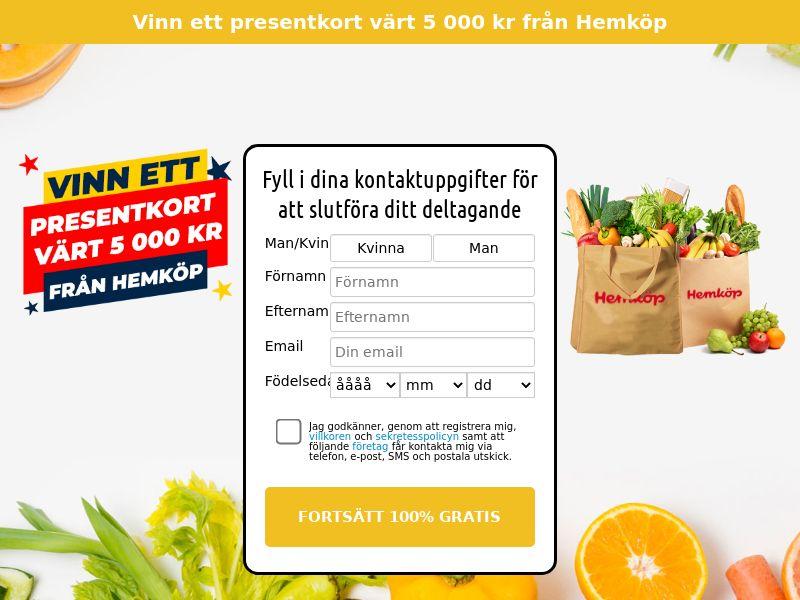 (13279) [WEB+WAP] Hemkop - SE - CPL