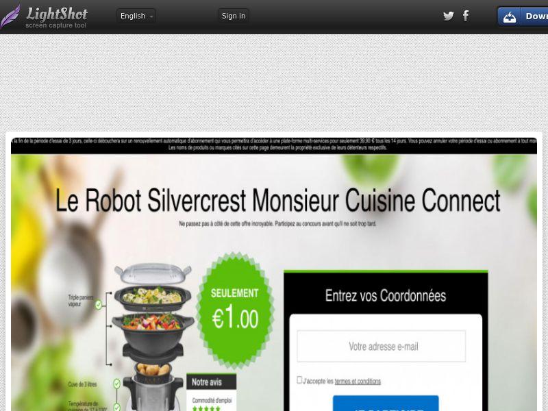 Bundleshopping - Silvercrest Mr Cuisine V2 (FR) (Trial) (Personal Approval)