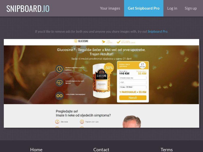 38338 - BA - Glucosine: Sales Page 2 - COD