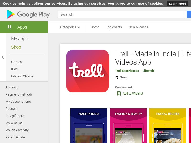 Trell - IN - NonIncent - Android (CPI)