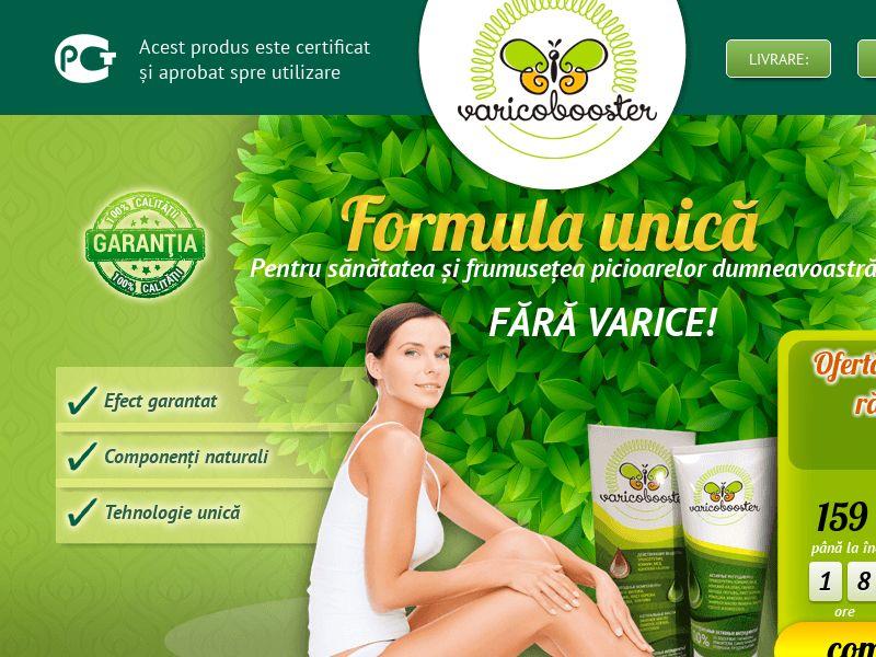 Varicobooster RO — varicose vein cream