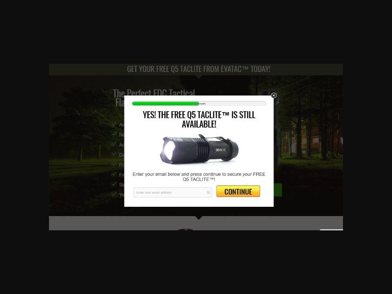 Taclite - FREE EDC Flashlight (US)
