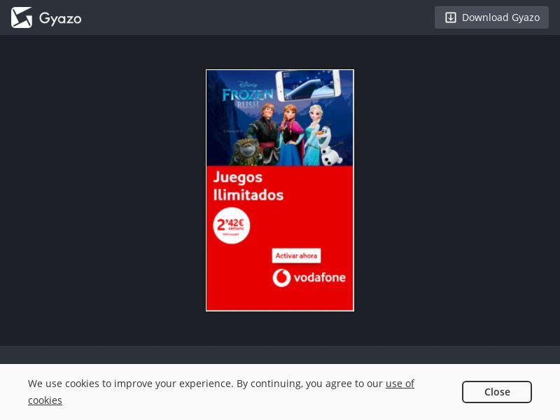 ES - Frozen Rush - Vodafone