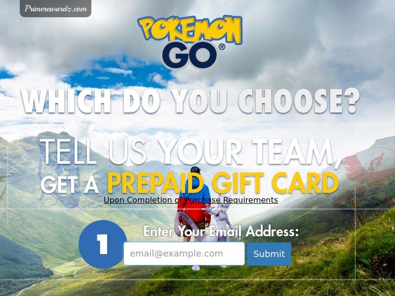 Pokemon Go Teams - US - Incent - CPL - DIRECT