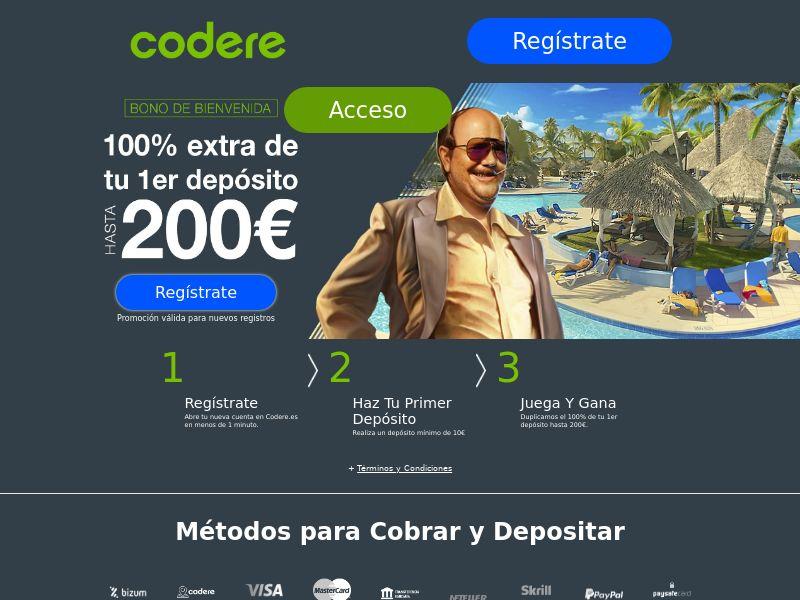 Codere Casino - CPL [ES]