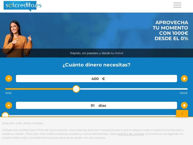 2208) [WEB+WAP] SolCredito - ES - CPL CPA