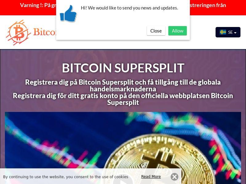 Bitcoin Supersplit Swedish 3618