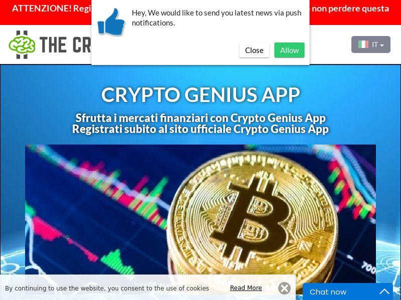 Crypto Genius App Italian 2731