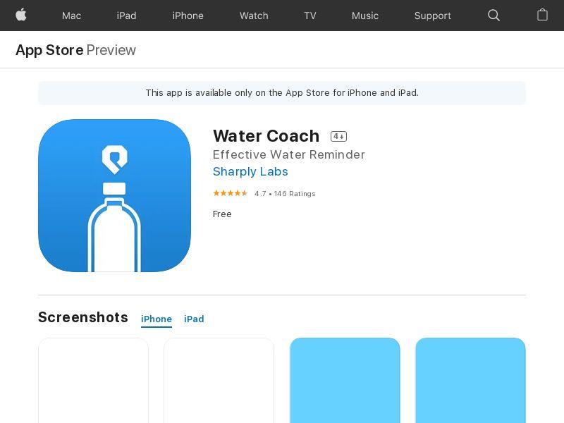 Water Coach
