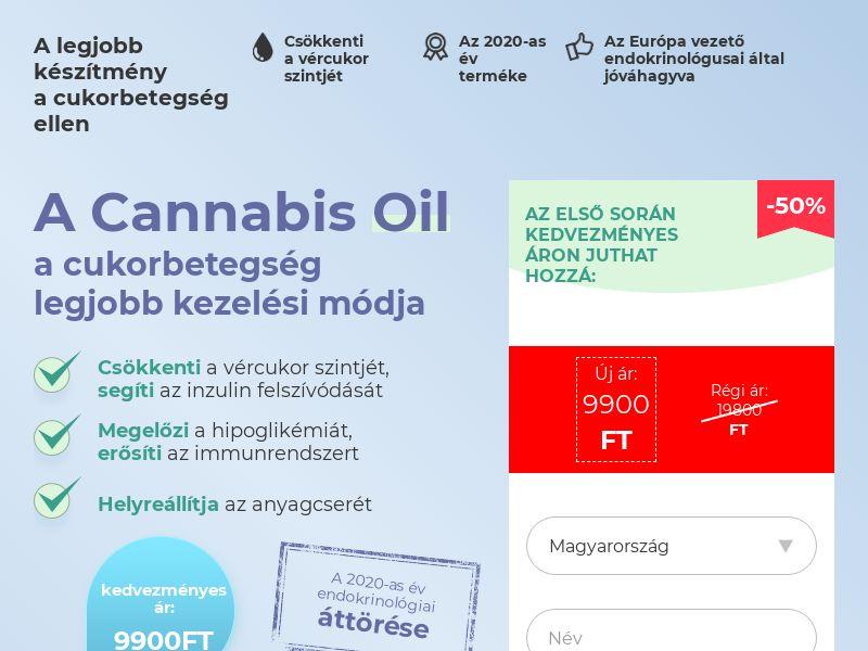 Cannabis Oil HU (diabet)