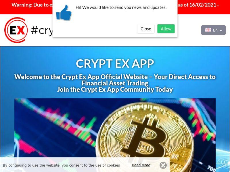 Crypt Ex App Arabic 2779
