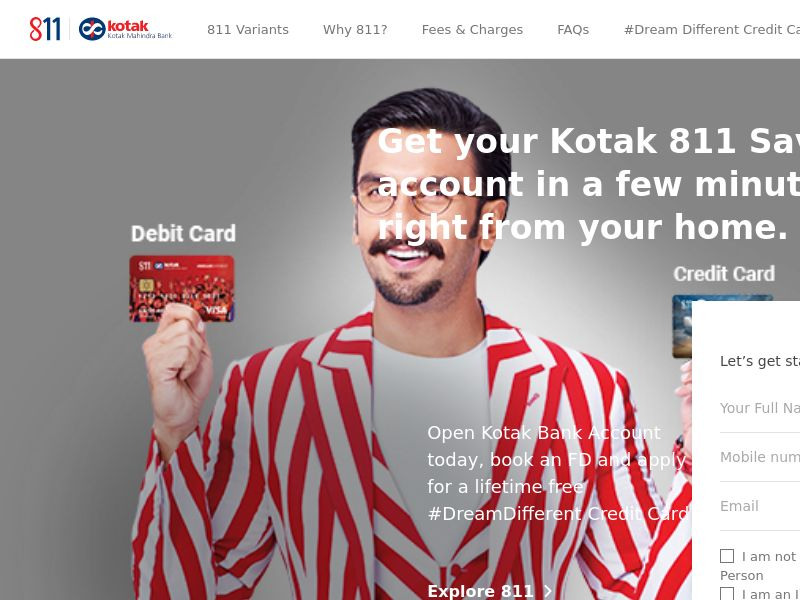 Kotak.com 811 CPL - India