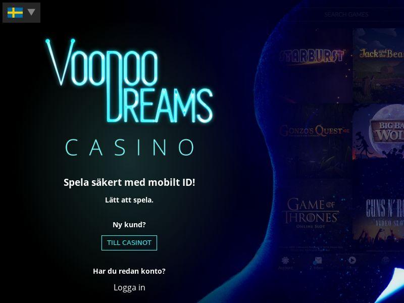 Voodoo Dreams- CPA | DE,FI,NZ