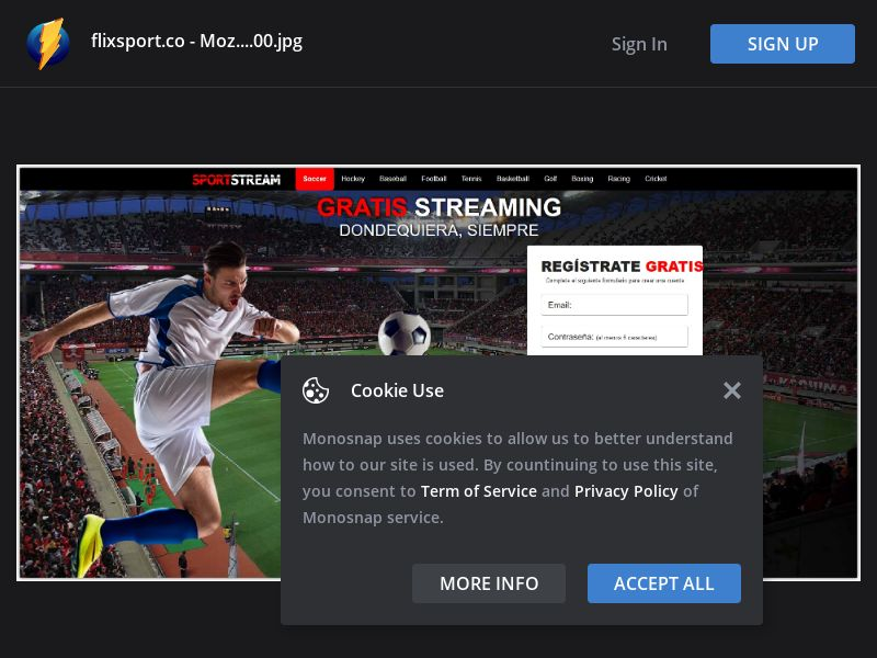 Chile (CL) - FlixSport - Sport Stream (Responsive)