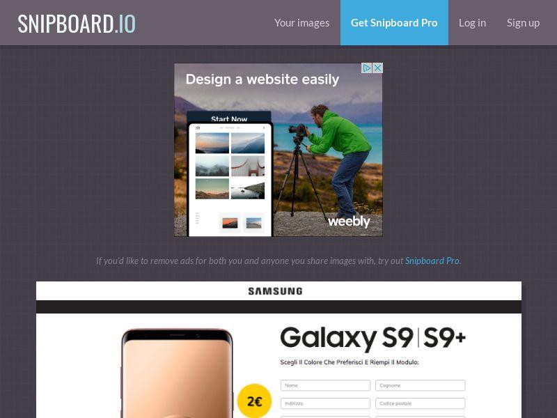 BigEntry - Samsung Galaxy S9 v7 IT - CC Submit