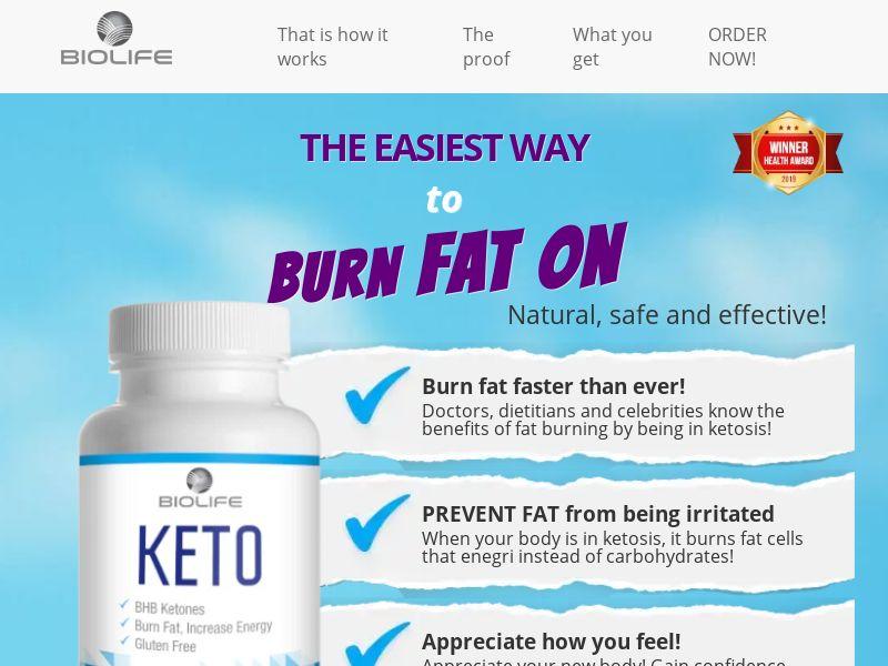 KetoCleanse - Trial - DK - Diet