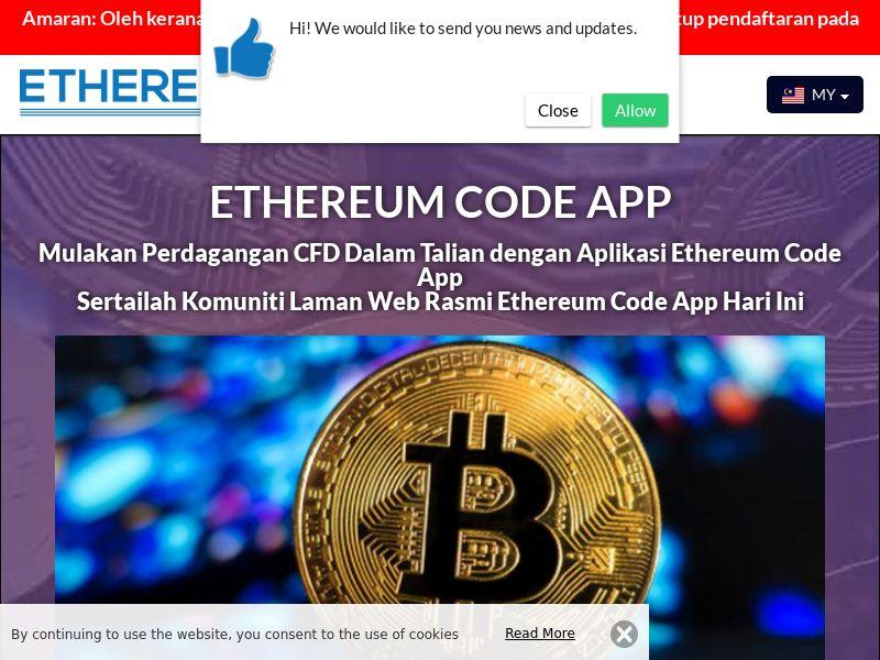 Ethereum Code App Malay 3295