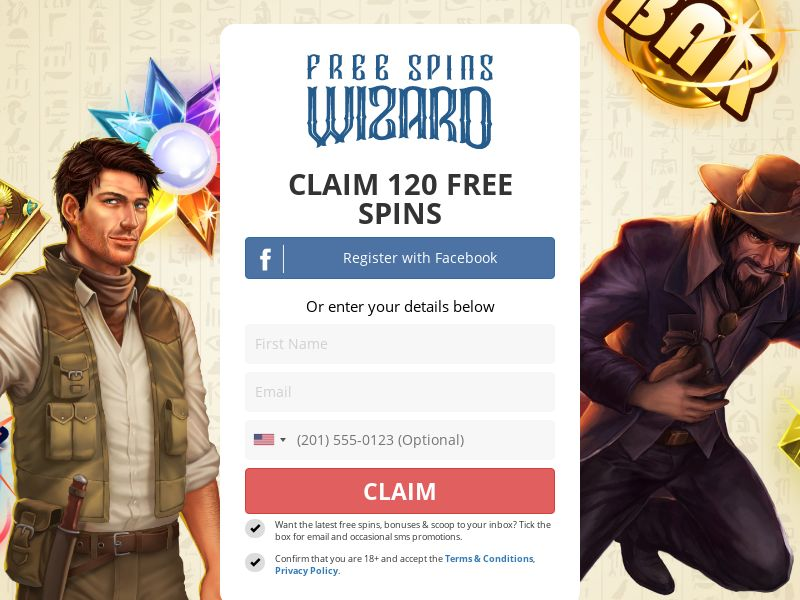 Free Spins Wizard - SOI - Email and Display Only - CA (*?)