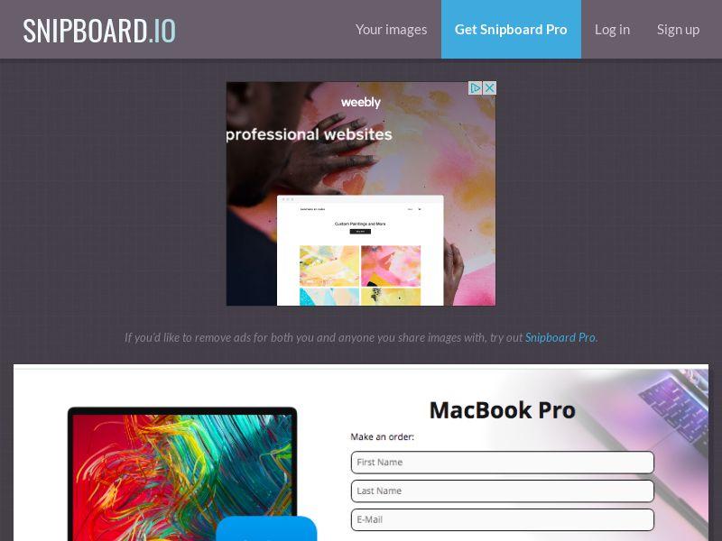 G33K Premium - MacBook Pro FR - CC Submit