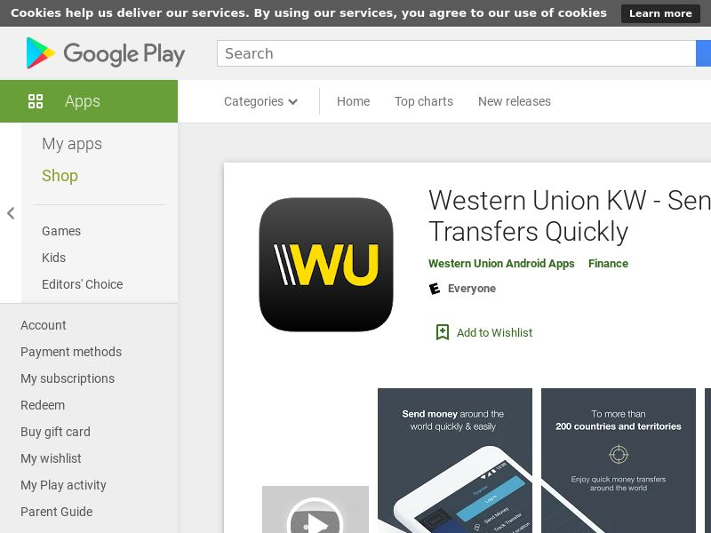 Western Union - Android (KW) (CPR) (GAID) (App Name) (No Rebrokering)