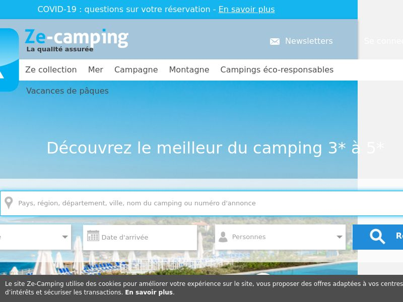 Ze Camping - FR (FR), [CPS], Transport and Travel, Accommodation, Sell, holiday