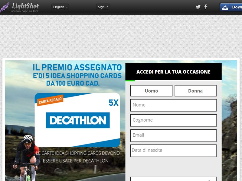 Green Flamingo Decathlon (Without Prelander) (Sweepstake) (SOI) - Italy