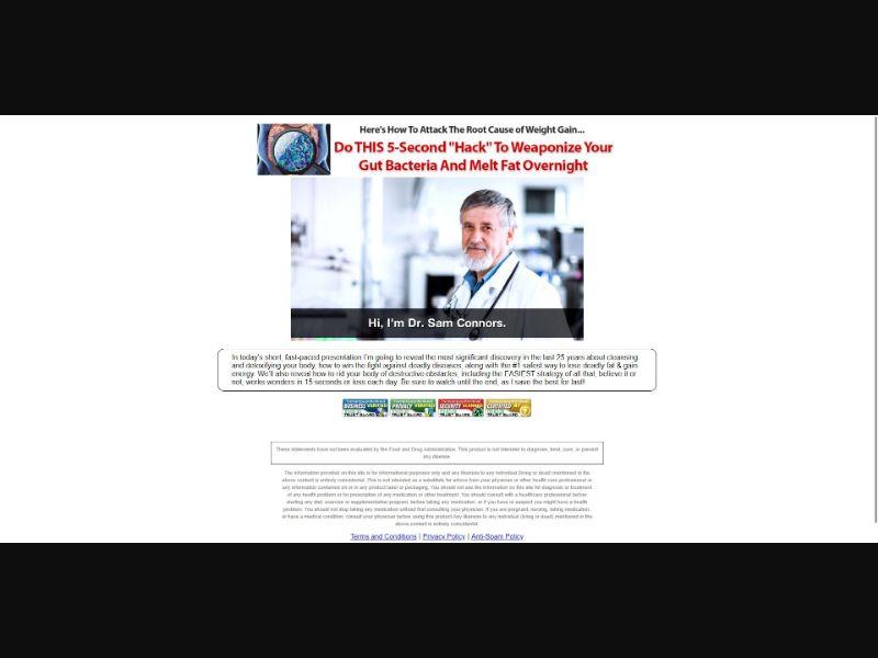 Replenish 911 - VSL - Diet & Weight Loss - SS - [All GEOs, No MX]