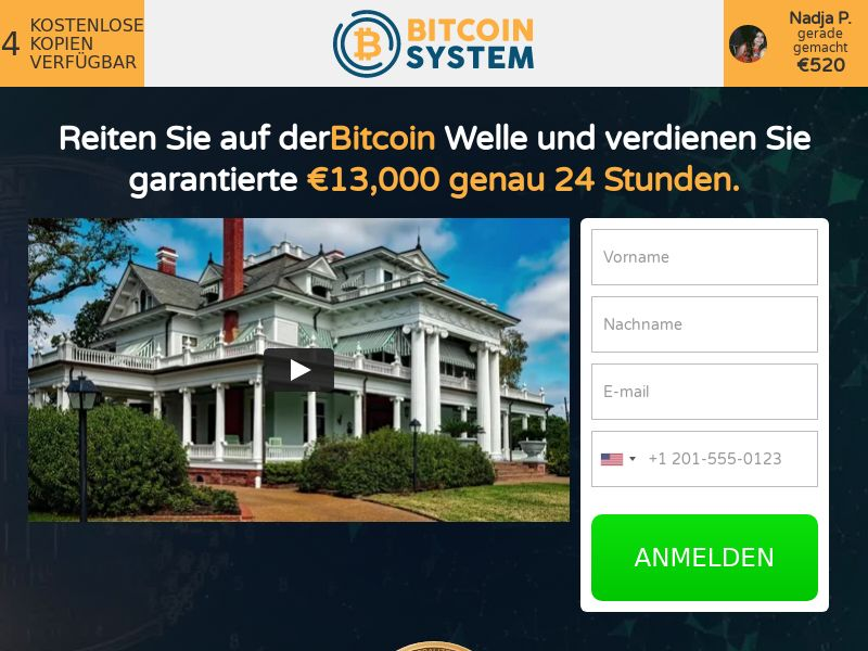 Bitcoin System CPA DE
