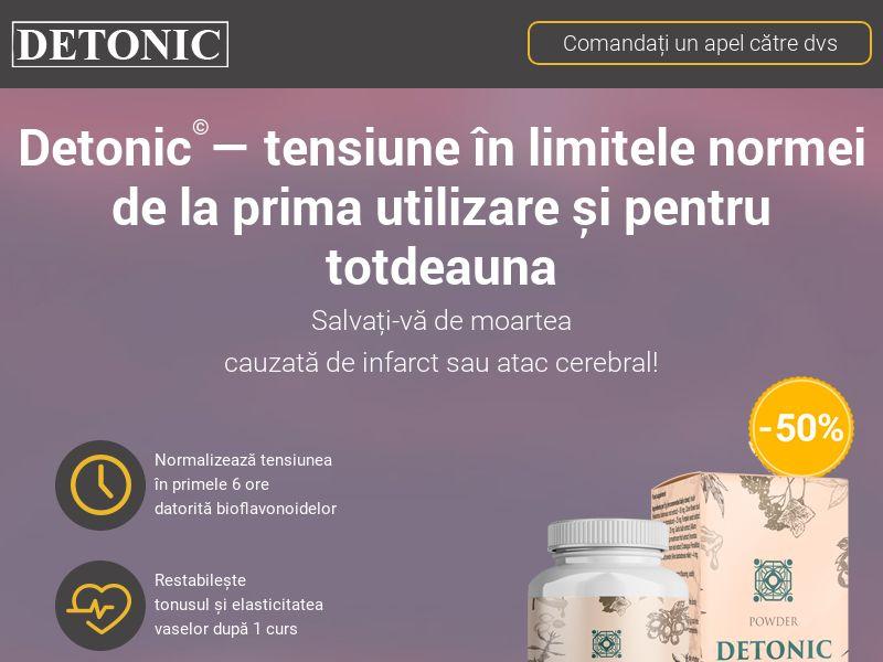 Detonic RO (hypertension)