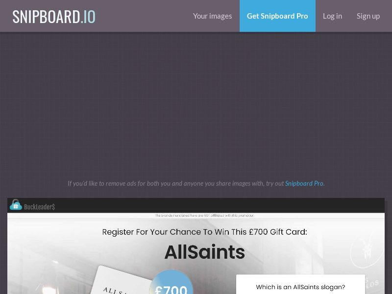 41064 - UK - Buckleaders - Allsaints - CPL