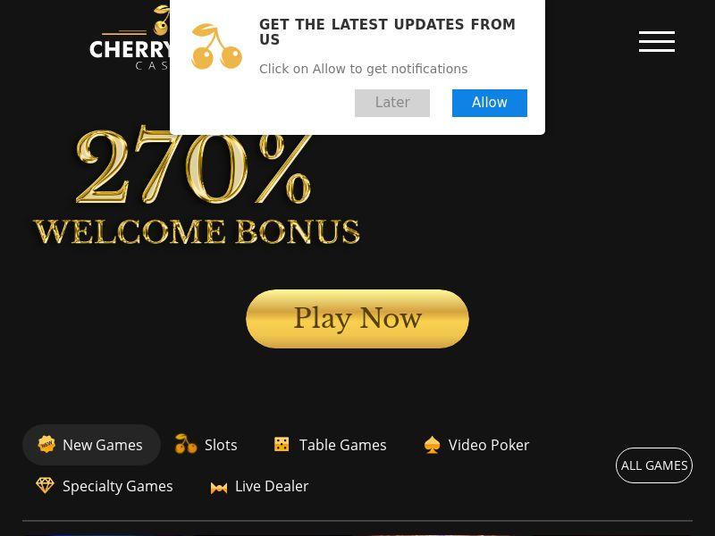CherryGold - Home page - CA, US, NZ, AU