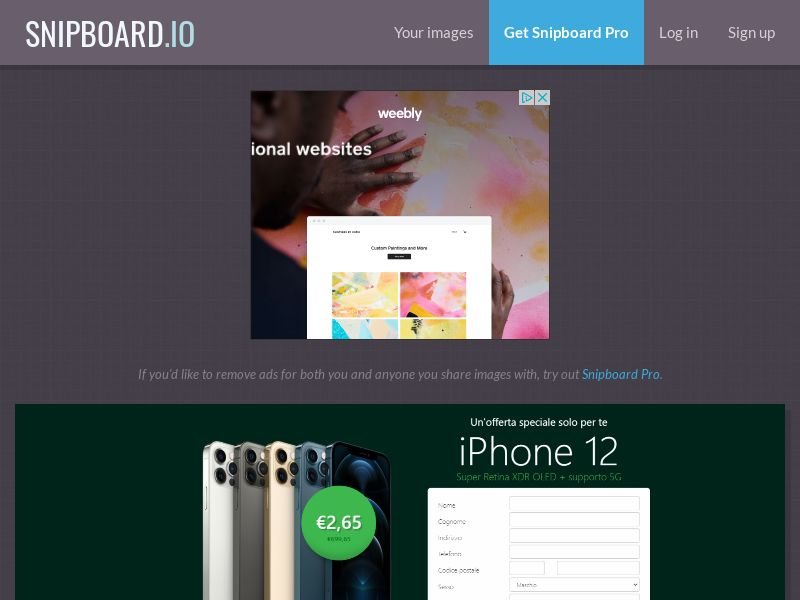39491 - IT - Lotto24 - iPhone 12 (Green) - CC submit GASMOBI EXCLUSIVE